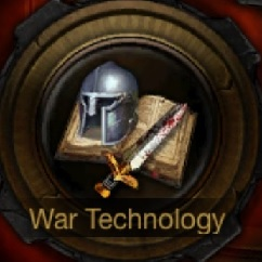 Clash of Queens War Technology Icon