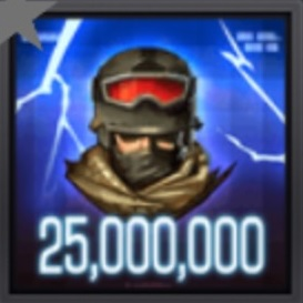 Commander XP 25000000 Item