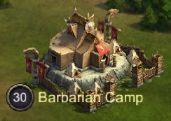 King of Avalon Barbarian Camps Icon