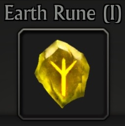 King of Avalon Earth Rune Icon