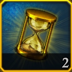 King of Avalon Golden Hourglass Icon