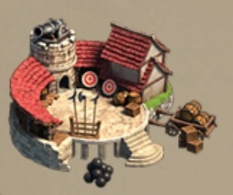 Kingdoms Mobile Barracks Icon