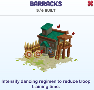 Kingdoms of Heckfire Barracks Icon