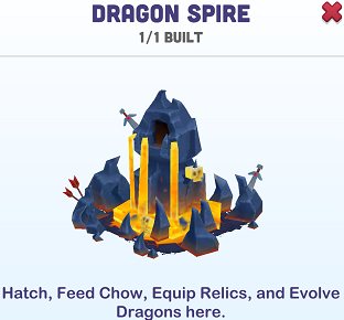Kingdoms of Heckfire Dragon Spire Icon