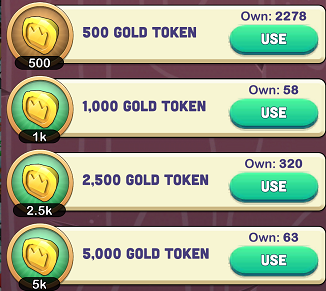 Kingdoms of Heckfire Gold Tokens