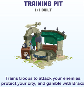 Kingdoms of Heckfire Training Pit Icon