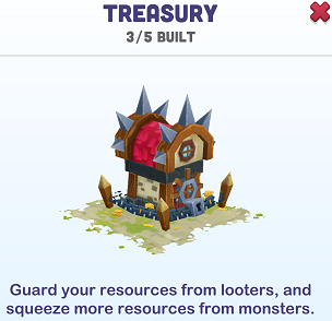 Kingdoms of Heckfire Treasury Icon