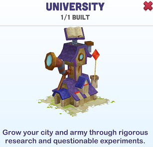 Kingdoms of Heckfire University Icon