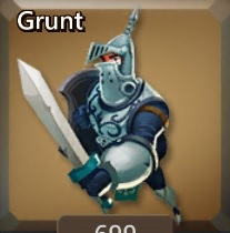 Lords Mobile Grunt Icon