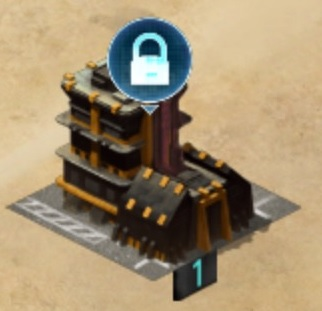 Mobile Strike Black Market Building Icon