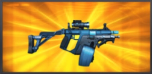 Mobile Strike Hardened Double Down SMG Icon