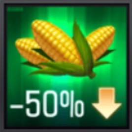 Mobile Strike Upkeep Reduction Icon