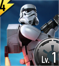 Star Wars Force Arena Imperial Jumptroopers Icon