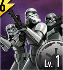 Star Wars Force Arena Imperial Sharpshooter Army Icon