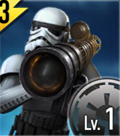 Star Wars Force Arena Rocket Stormtrooper Icon