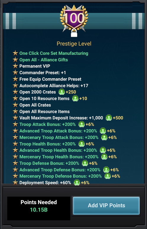VIP Prestige 9 Lvl 10 Part 1